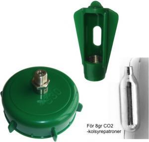 Lock + Hållare för Rotokeg - Set om 2 delar