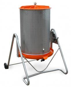 Fruktpress 180L-Hydropress vattendriven från Speidel
