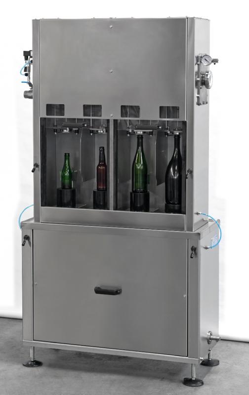 Mottrycksfyllare kolsyrad dryck, halvautomatisk