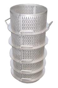 Rostfri stålkorg för örter - Oleum 30 Compact