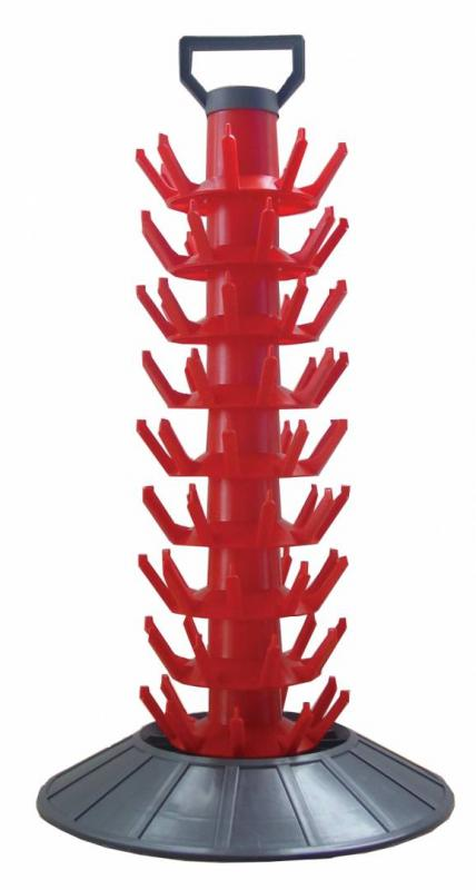 Flasktork, torkställning för flaskor - 81 st