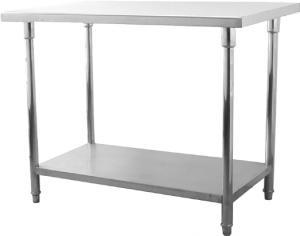 Robust Arbetsbord WT600 i rostfrit stål
