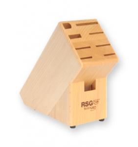 Knivblock i trä för 9-del - RSG Solingen
