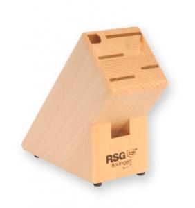 Knivblock i trä för 6-del - RSG Solingen