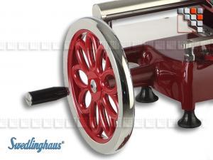 Svänghjul med blomdekoration