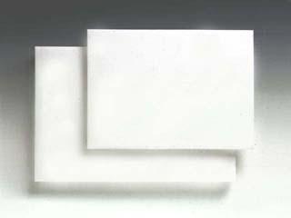 Skärbräda VIT Polyetylen med kantstöd 40-80cm