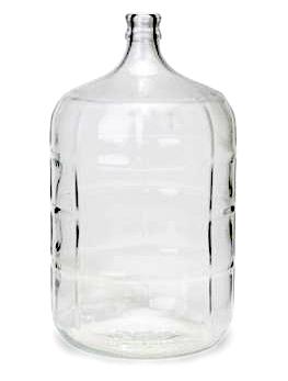 Glasdamejeanne 11L- 3 gallon - Carboy