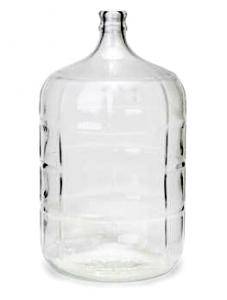 Glasdamejeanne 11L- 3 gallon - Carboy
