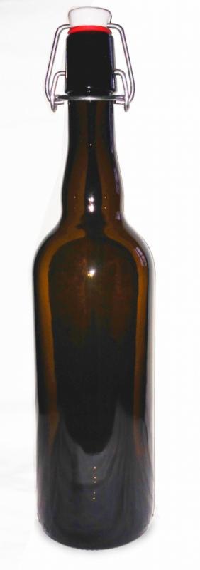 Bygelflaska 15-pack - 75cl Brunt Glas