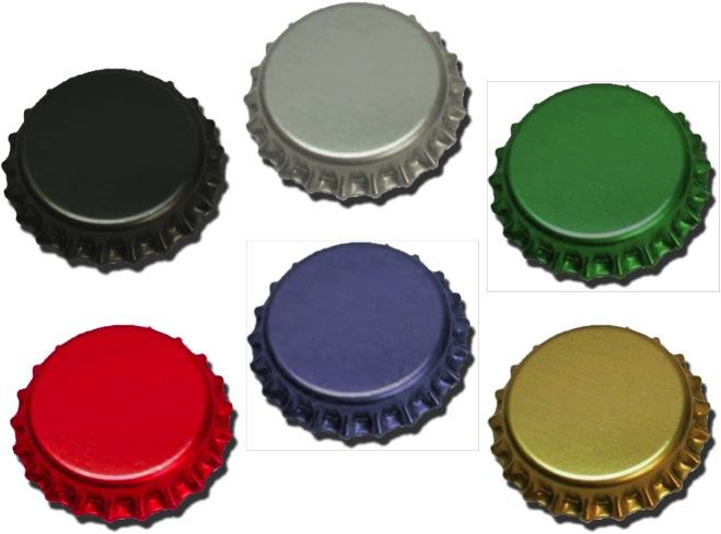 Kronkapsyl 100st - valfri färg