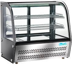 Vitrinkyl Böjt Glas 100-160L
