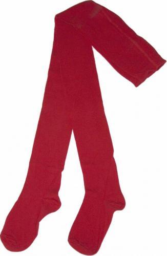 Kalasbyxa Enfärgad Röd XX-L