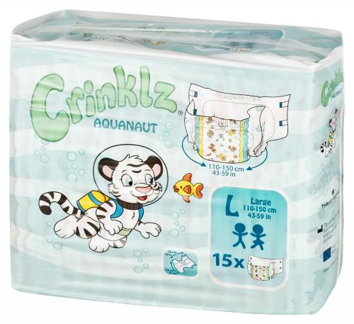 Crinklz Aquanaut Large 15 st