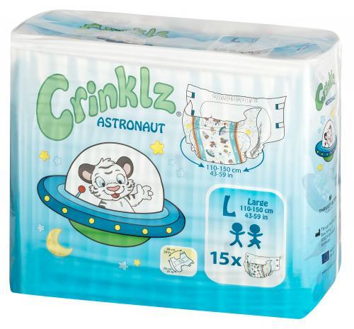 Crinklz Astronaut Large 15 st