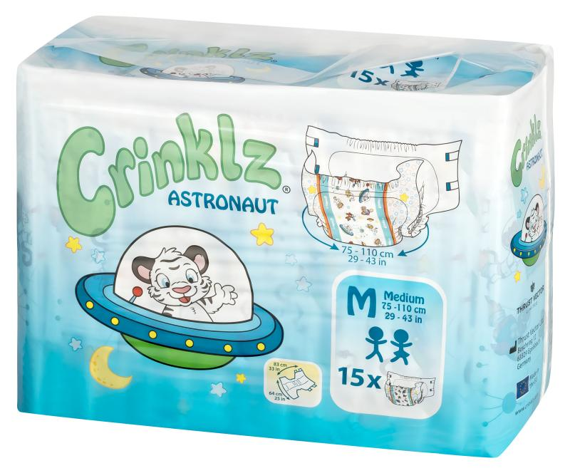 Crinklz Astronaut Medium15 st