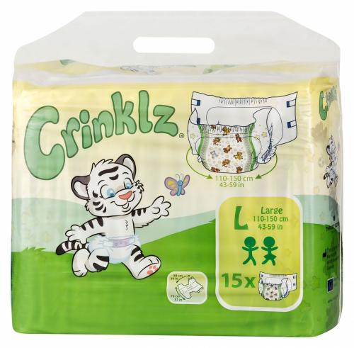 Crinklz Large 15 st