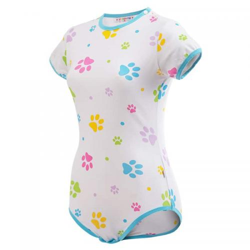 Baby Paws Blue Onesie Bodysuit