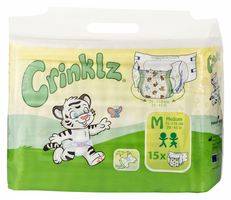 Crinklz Medium 15 st