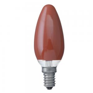 Kronljus röd E14 25W