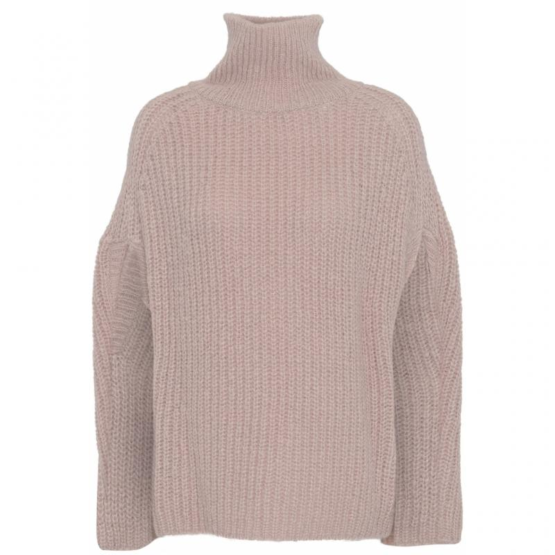 Abby Poncho - Dusty Pink