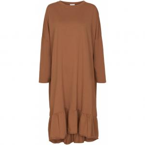 Sweat Dress - Brown
