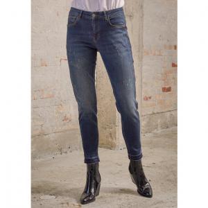 Lucca 9/10 Raw Jeans - Dark Denim Wash