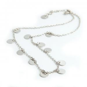 Coin, Necklace Silver