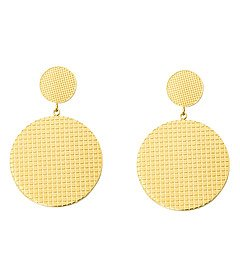 Cassandra double earring, gold