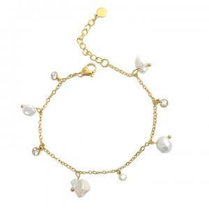 Fabienne Pearl Bracelet - Gold