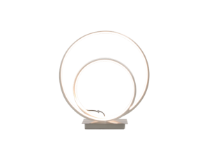 Loop Bordslampa Stål