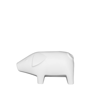 Swedish Pig Small- White