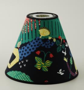 Lampskärm Lustgård V-form