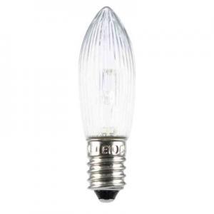 Topplampa LED, till ljusstake och julbelysning, klar