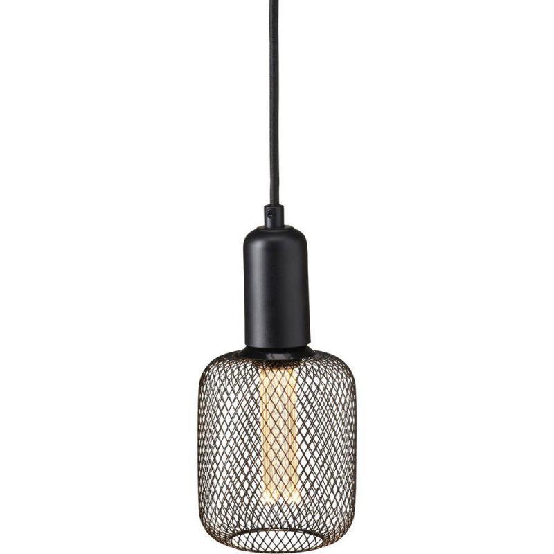 Grid Fönsterlampa Svart  10CM