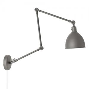 Vägglampa Bazar - Grå