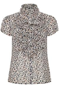 Lilly Shirt - Whisper Cheetah