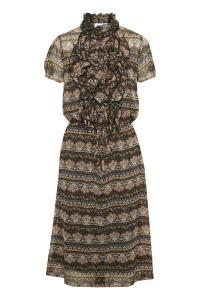 Lilly Dress - Black Paisley