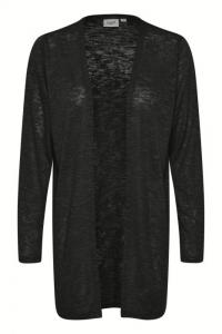 Rose Knit Cardigan - Black
