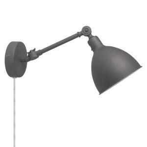 Vägglampa Bazar Mini - Grå