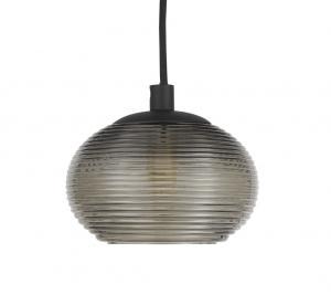 Fönsterlampa Nova-Rökfärgatglas