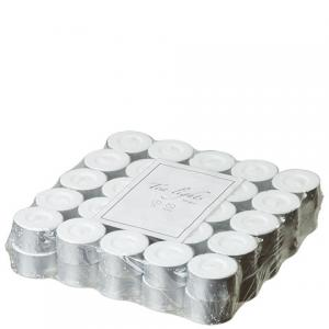 Tea Lights White 50-pack