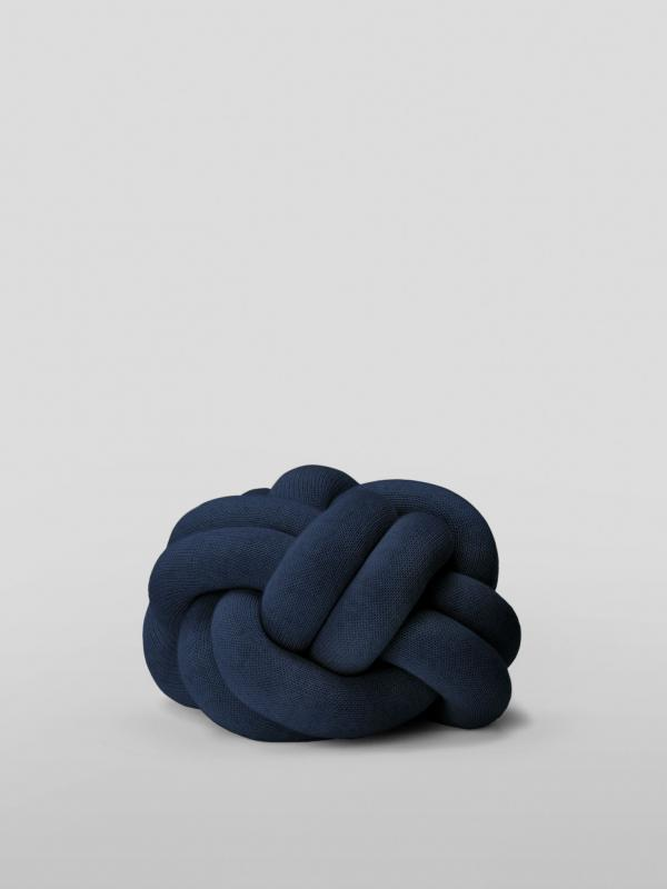 Knot Cushion - Navy