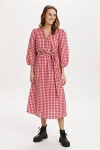 Flucca Dress -Begonia Pink