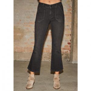Como Flare Jeans - Washed Black