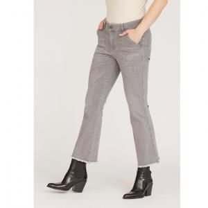 Como Flare Jeans - Light Grey Washed