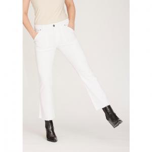 Como Flare Jeans - White