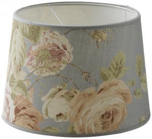 "Lampskärm ""Tallulah Floral"" Stor - Blå"