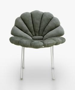 Shell Cushion - Eucalyptus
