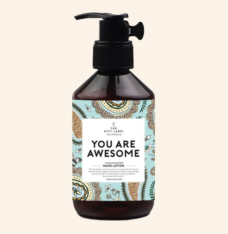 Hand Lotion - You Are Awesome