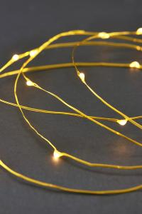 String Lights Mässing